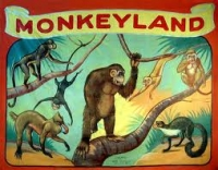 Fred Johnson Sideshow Banner Monkeyland