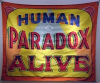 Fred Johnson Sideshow BannerHuman Paradox Alive