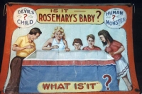 Fred Johnson Sideshow Banner Is It Rosemary's Baby?