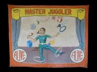 Fred Johnson Sideshow Banner Master Juggler