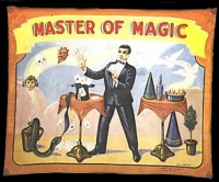 Fred Johnson Sideshow Banner Master Of Magic