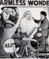 Sideshow Painter Bobby Wicks For RAS with Joanne Armless Girl.jpg
