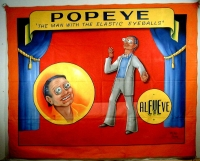 SideShow Banner Johnny Meah Popeye the Man With the Elastic Eyeballs.JPG