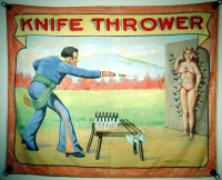 SideShow Banners Fred Johnson Knife Thrower.JPG
