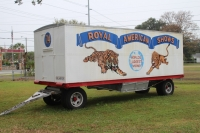 Royal American Shows Girl Show Wagon