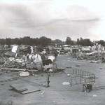 "alt=""tornado causes destruction carnival midway"""