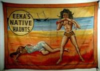 Al Renton Sideshow Banner Eeka's Native Haunts