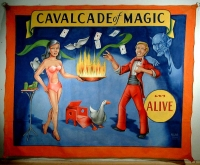 SideShow Banner Johnny Meah Calvacade of Magic.JPG