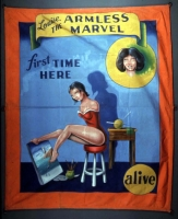 SideShow Banner Johnny Meah Louise the Armless Marvel.JPG